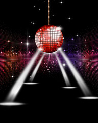 Disco Party Spotlights
