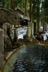 Chozuya is an area the precinct of a Shinto shrine