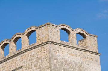 St. Scolastica Church. Bari. Puglia. Italy.