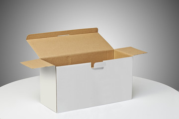 Real Cardboard box