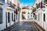 Picturesque street of Rancho Domingo. Spain - 83184183