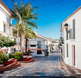 Picturesque street of Rancho Domingo. Spain - 83184187