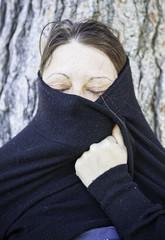 Moorish woman covered