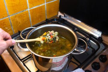 Minestrone - Zuppa di verdure