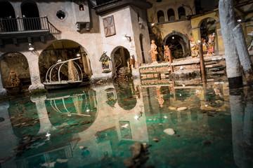 miniatura villaggio di pescatori del lago di Como
