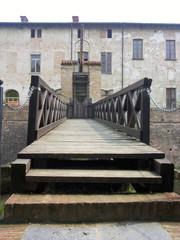 ponte levatoio castello Pagazzano