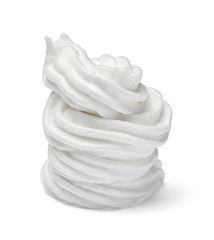 whipped cream sweet food white