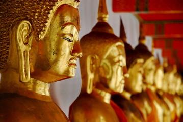 Buddha statue at Wat Pho, bangkok, Thailand