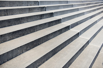 concrete stairs perspective
