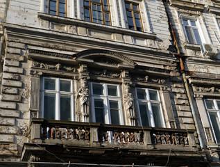 Romania, Bucharest: faded beauty