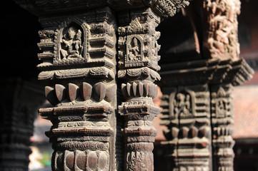 Sculptures de temple