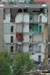 Neubaublock wird abgerissen