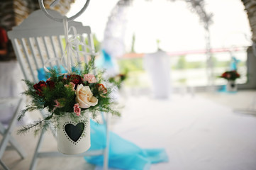 Wedding ceremony & Wedding decorations. Wedding Archway
