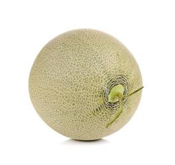 melon fruit on white background