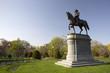 Statue of George Washington in Boston Public Garden
