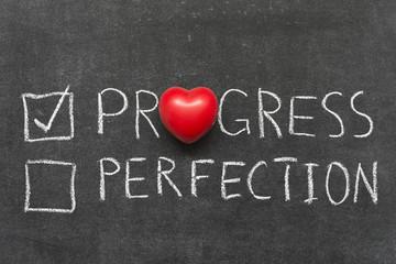progress selected
