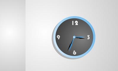 The Overtime Clock Illustration