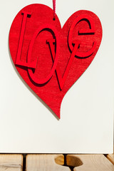 red heart - rotes Herz - love - Liebe