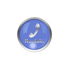 Button Blau - Kontakt