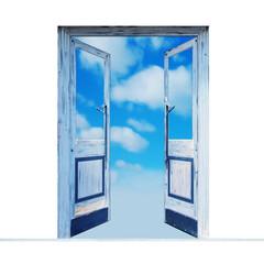 未来への希望の扉