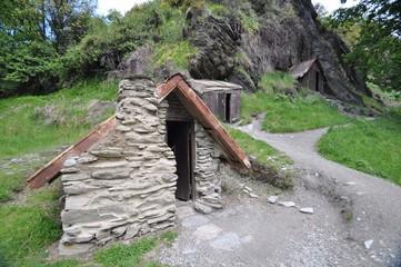 Arrowtown Miners Huts