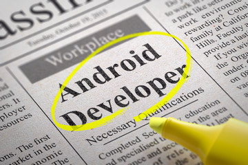 Android Developer Jobs in Newspaper.