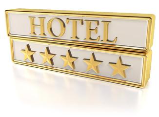Hotel - Five gold stars