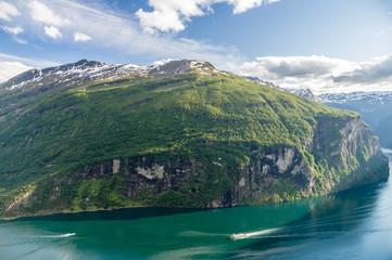 Geirangerfjord summer view, Norway