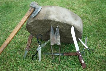 Whetstone for sharpening knives