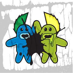monster rockers describe two monster rockers