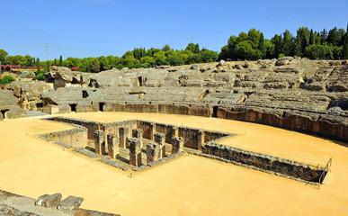 Italica, Roman Amphitheater, Seville, Spain