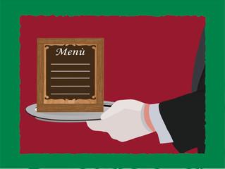 cameriere menu
