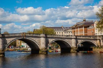 Richmond Bridge. Thames. London