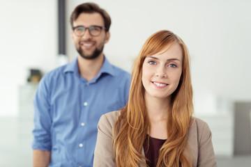 kompetente mitarbeiter in der firma