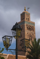 MARRAKESH/MOROCCO 22ND APRIL 2007 -  The Minaret of the Koutoubi