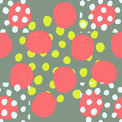 vector seamless pattern of geometric shapes