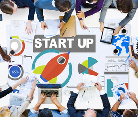 Business Plan Startup Strategy Innovation Vision Creativity Conc