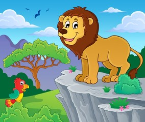 Lion theme image 1