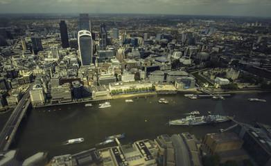 London financial city area