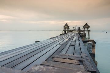 long bridge over the sea