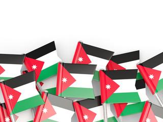 Flag pin of jordan