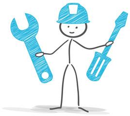stickman worker