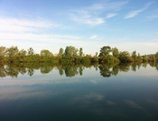 Lake Kingsvillage In Spring