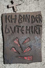 11. Station eines Kreuzweges, Wesemlin, Luzern