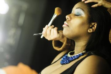Makeup making of
