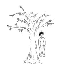 hangman and the tree