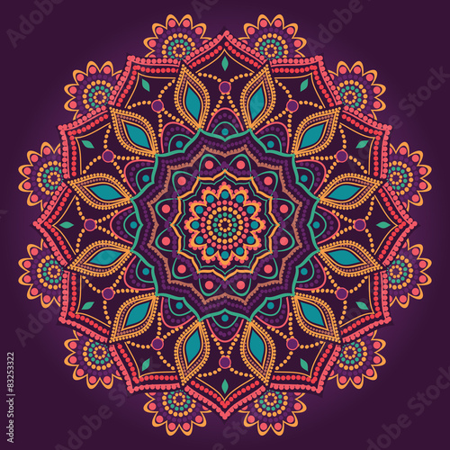 Ornamental mandala - 83253322