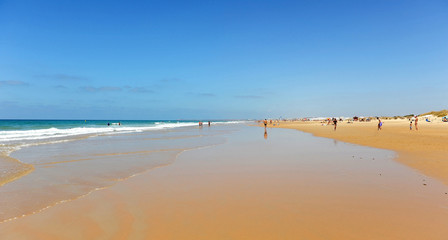 Playa El Palmar, Costa de Cádiz, Andalucía, España