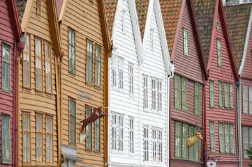 The Bryggen at Bergen