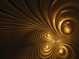 Abstract golden abstract background